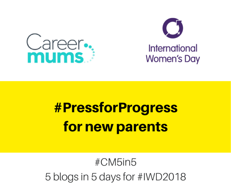 #PressforProgress for New Parents