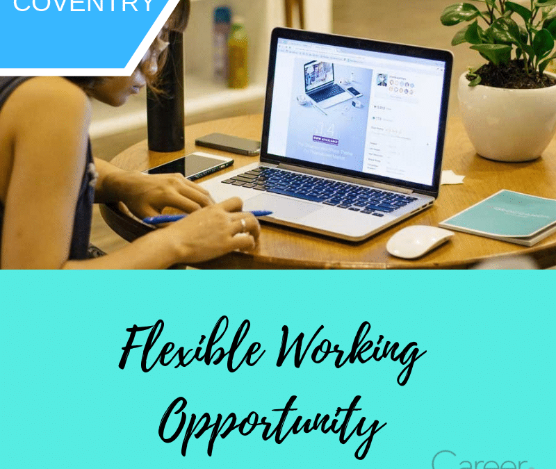 Flexible Working Opportunity:  Internal Sales Executive